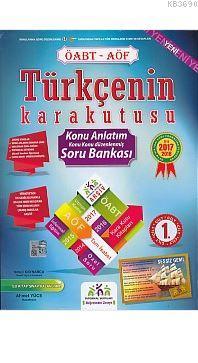 İnformal ÖABT AÖF Türkçenin Kara Kutusu Konu Anlatım Soru Bankası 2 Cilt Takım