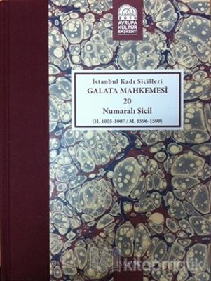 İstanbul Kadı Sicilleri - Galata Mahkemesi 20 Numaralı Sicil Cilt 35 (Ciltli)