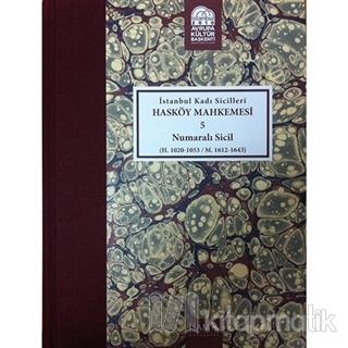 İstanbul Kadı Sicilleri - Hasköy Mahkemesi 5 Numaralı Sicil Cilt 23 (C