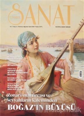 İstanbul Sanat Dergisi Sayı: 4 Temmuz - Ağustos - Eylül 2021 Kolektif