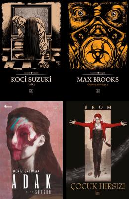 İthaki Yayınları Korku Gerilim Seçkisi-1 Koci Suzuki