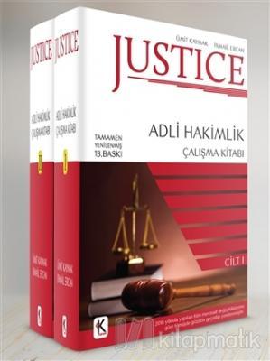 Justice - Adli Hakimlik Çalışma Kitabı (2 Cilt Takım)