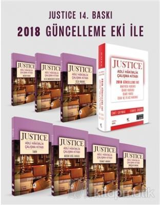 Justice Adli Hakimlik Çalışma Kitabı (Modüler Set - 8 Kitap) ve  2018 Güncelleme Eki