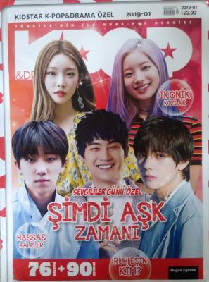 Kidstar K-pop & Drama Özel Kore Pop Dergisi Sayı:2019-01