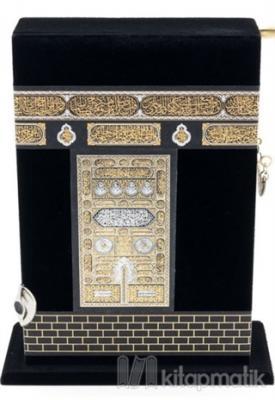 Kabe Kutulu Kur'an'ı Kerim (Çanta Boy) (Ciltli)