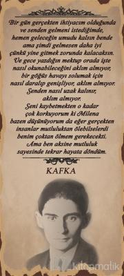 Kafka Bir Gün Poster