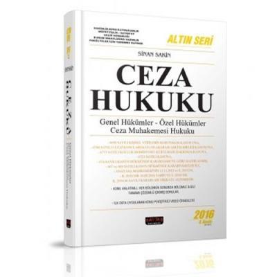Ceza Hukuku %28 indirimli Sinan Sakin
