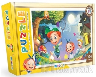 Kelebek Avı - Puzzle (BF083)