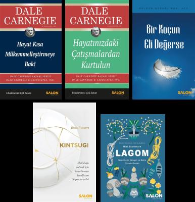 Salon Yayınları Kişisel Gelişim Serisi-1 Dale Carneige
