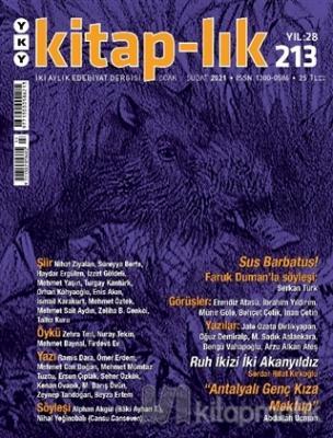 Kitap-lık Dergisi Sayı: 213 Ocak-Şubat 2021 Kolektif