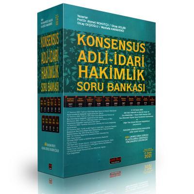 KONSENSUS Adli - İdari Hakimlik Soru Bankası 2021 Ahmet Nohutçu