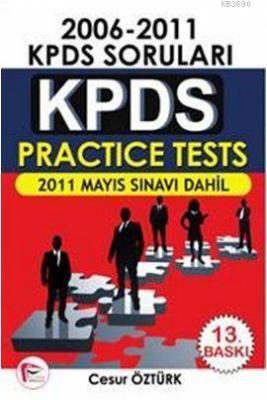 KPDS Practice Tests 2006 - 2011 KPDS Soruları