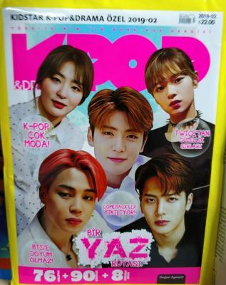 Kidstar K-pop & Drama Özel Kore Pop Dergisi Sayı:2019-02