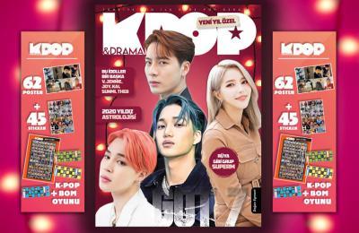 Kidstar K-pop & Drama Özel Kore Pop Dergisi Sayı: 2019-05