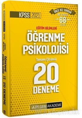 KPSS 2021 Eğitim Bilimleri Öğrenme Psikolojisi Tamamı Çözümlü Tamamı Ç