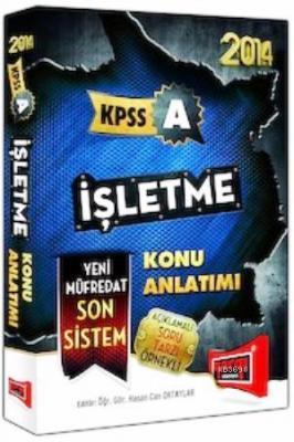 KPSS A İşletme Konu Anlatımlı