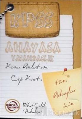 KPSS Anayasa Vatandaşlık Konu Anlatım Cep Kartı