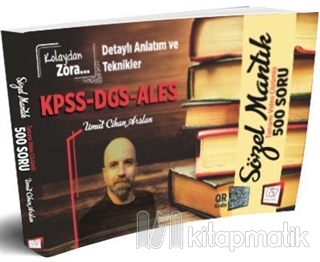KPSS-DGS-ALES Sözel Mantık Tamamı Video Çözümlü 500 Soru