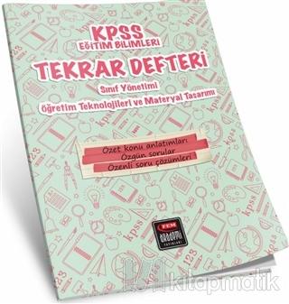 KPSS Eğitim Bilimleri Tekrar Defteri Öğretim Teknolojileri ve Materyal Tasarımı