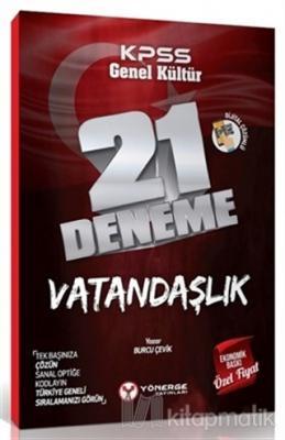 KPSS Genel Kültür Vatandaşlık 21 Deneme