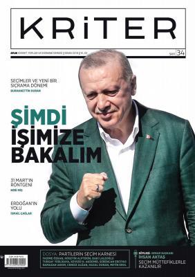 Kriter Dergisi Sayı:34 Nisan 2019