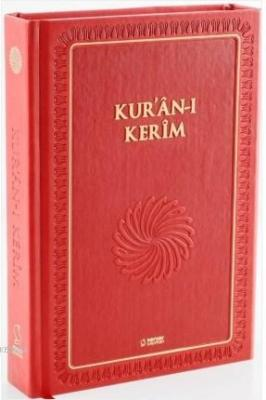 Kur'an-ı Kerim (Büyük Boy - Mıklepli - Kırmızı)