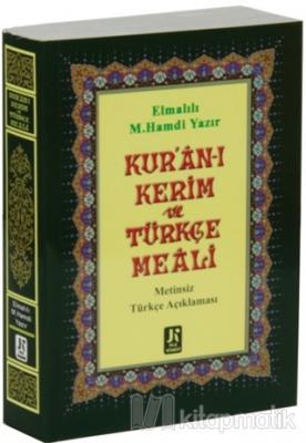 Kur'an-ı Kerim Türkçe Meali (Çanta Boy)