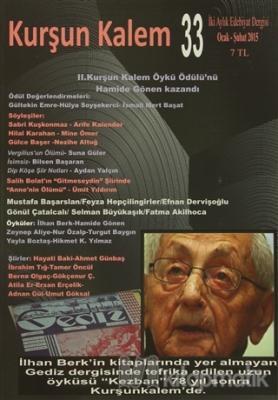 Kurşun Kalem İki Aylık Edebiyat Dergisi Sayı: 33 Ocak - Şubat 2015