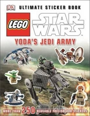 Lego Star Wars Yoda's Jedi Army Ultimate Sticker Book