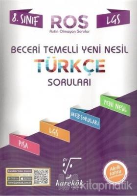 LGS 8. Sınıf Beceri Temelli Yeni Nesil Türkçe Soruları