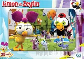Limon ile Zeytin - Frame Puzzle 35 (Asorti 12'li Paket)