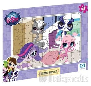 Littlest Petshop - Frame Puzzle 2 (35 Parça)