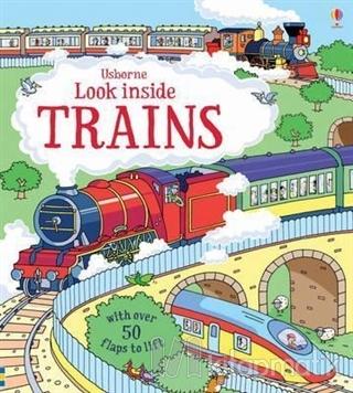Look Inside Trains (Ciltli)