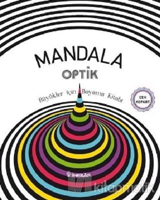Mandala Optik - Büyükler İçin Boyama Kitabı Kolektif
