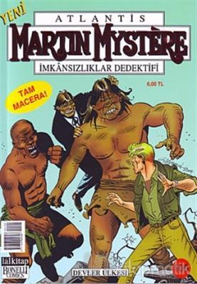 Martin Mystere - İmkansızlıklar Dedektifi Sayı: 100 - Devler Ülkesi