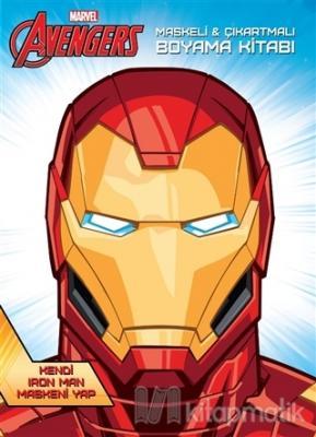 Marvel Avengers Maskeli ve Çıkartmalı Boyama Kitabı