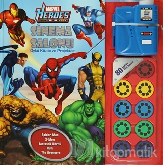 Marvel Heroes - Sinema Salonu