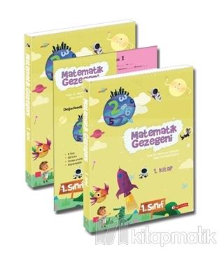 Matematik Gezegeni 1. Sınıf (3 Kitap Takım) Ülkü Doğancıoğlu