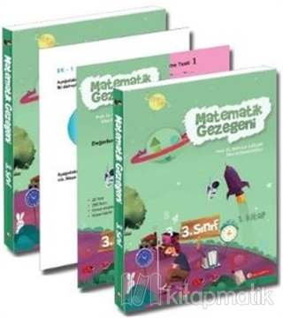 Matematik Gezegeni 3.Sınıf 2+1 Set Mehmet Çağlar