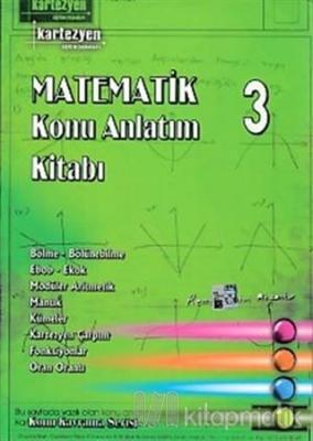 Matematik Konu Anlatım Kitabı 3