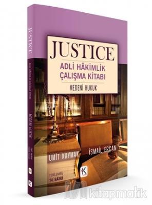 Medeni Hukuk - Justice Adli Hakimlik Çalışma Kitabı Ümit Kaymak