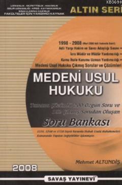 Medeni Usul Hukuku Soru Bankası (1998 - 2008)