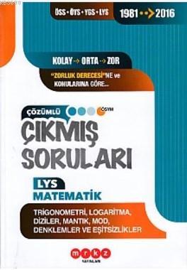 Merkez LYS Matematik Trigonometri Logaritma