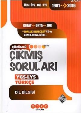 Merkez YGS LYS Türkçe Dil Bilgisi Çıkmış Sorular 1981 2016