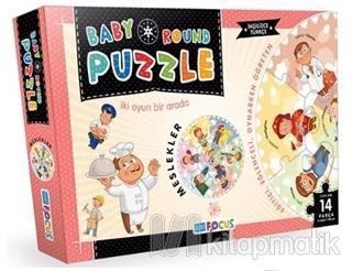 Meslekler / Baby Round - Puzzle (BF075)