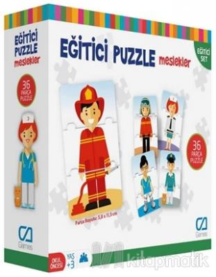 Meslekler - Eğitici Puzzle