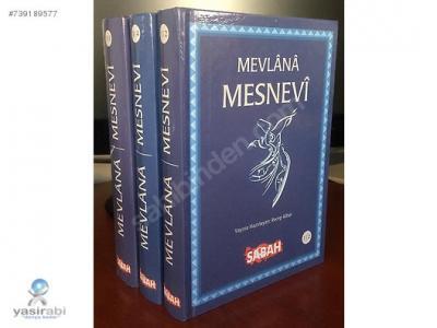 Mevlana Mesnevi (3 Kitap Set)