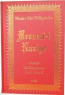 Mesnevi-i Nuriye (Orta Boy - Sırtı Deri)