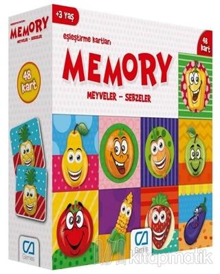 Meyveler - Sebzeler - Memory Eşleştirme Kartları
