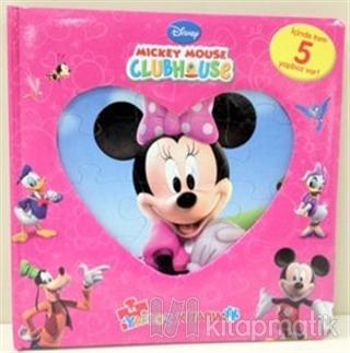 Mickey Mouse Clubhouse İlk Yapboz Kitabım (Ciltli)